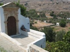 Lindos village 43